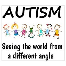 Autism...seeing the world from a different angle Poster