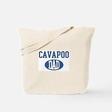 Cavapoo dad Tote Bag
