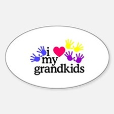 I Love My Grandkids/Hands Bumper Stickers
