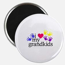 I Love My Grandkids/Hands Magnets