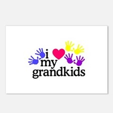 I Love My Grandkids/Hands Postcards (Package of 8)
