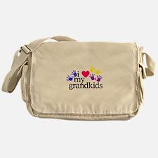 I Love My Grandkids/Hands Messenger Bag