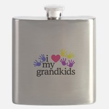 I Love My Grandkids/Hands Flask