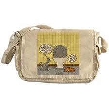 Cats and Toilets Messenger Bag
