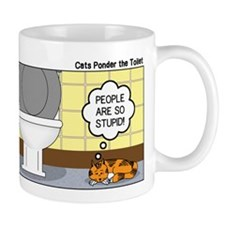 Cats and Toilets Mug