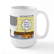 Cats and Toilets Mug