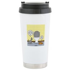 Cats and Toilets Travel Coffee Mug