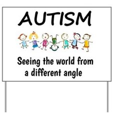 Autism...seeing the world from a different angle Y