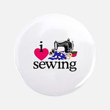 I Love Sewing/Machine Button