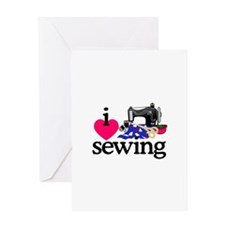 I Love Sewing/Machine Greeting Cards