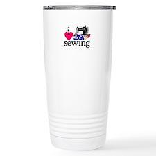 I Love Sewing/Machine Travel Mug