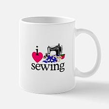 I Love Sewing/Machine Mugs