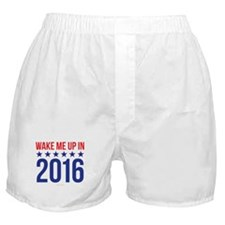 Wake Me Up in 2016 Boxer Shorts