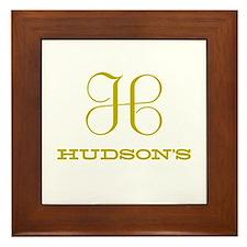 Hudson's Classic Framed Tile