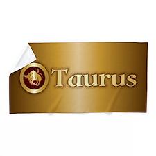 Taurus Gold Beach Towel