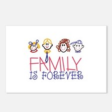 Family is Forever Postcards (Package of 8)