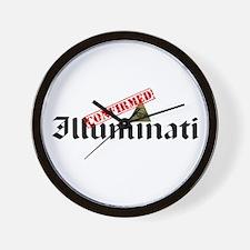Illuminati Confirmed Wall Clock
