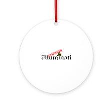 Illuminati Confirmed Ornament (Round)