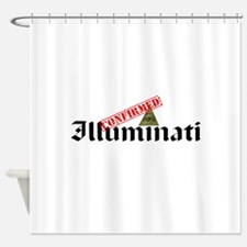 Illuminati Confirmed Shower Curtain