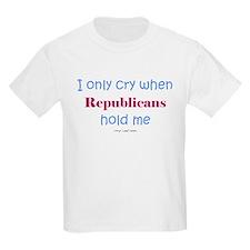 Dont' let Republicans hold me T-Shirt