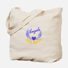 Angels Rise Above Tote Bag
