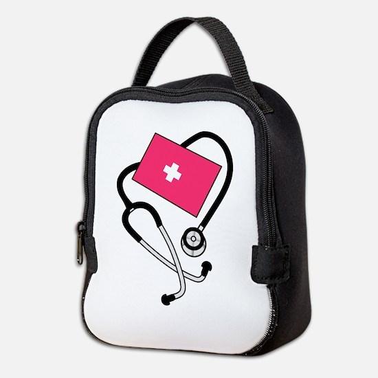 Blood Pressure Cuff Neoprene Lunch Bag