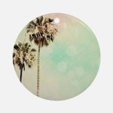 Palm Trees 1 Round Ornament