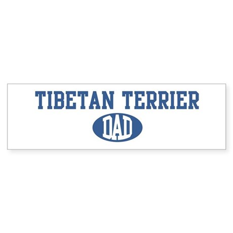 Tibetan Terrier dad Bumper Sticker