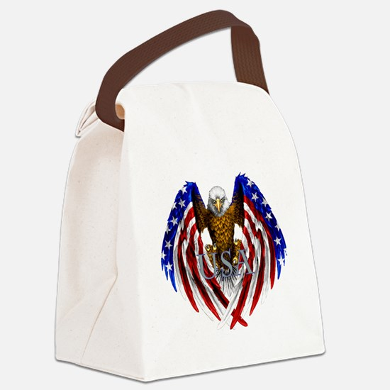 eagle2.png Canvas Lunch Bag