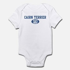 Cairn Terrier dad Infant Bodysuit