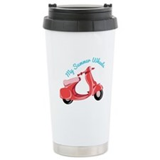 Summer Wheels Travel Mug