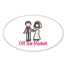 Off the Market Decal