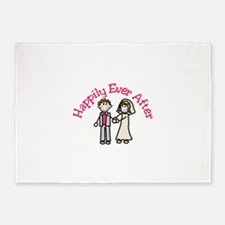 Happily Ever After 5'x7'Area Rug