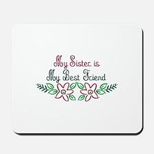Sister-Friend Mousepad