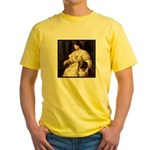 LADY & COLLIE Yellow T-Shirt