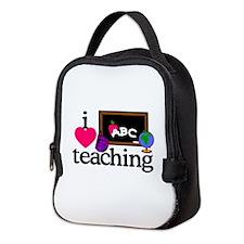I Love Teaching/Blackboard Neoprene Lunch Bag