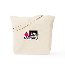I Love Teaching/Blackboard Tote Bag