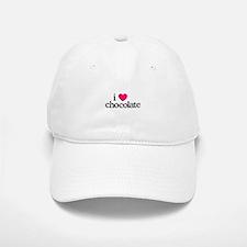 I Love Chocolate Baseball Baseball Baseball Cap