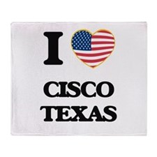 I love Cisco Texas Throw Blanket