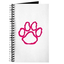 Pawprint Outline Journal