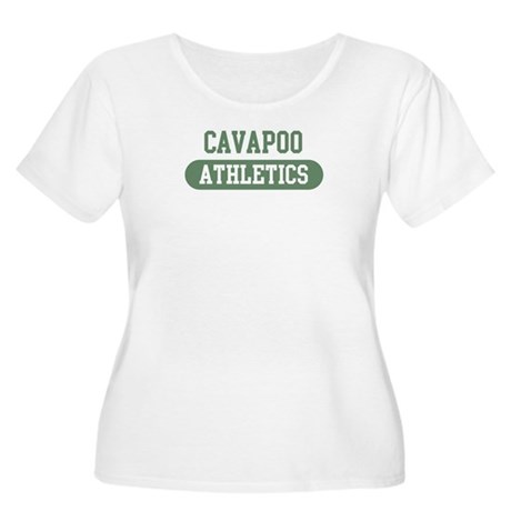 Cavapoo athletics Women's Plus Size Scoop Neck T-S