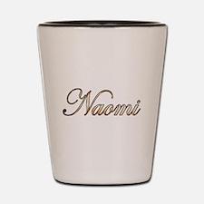 Gold Naomi Shot Glass