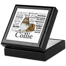Collie Traits Keepsake Box