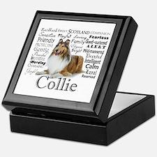 Collie Traits Keepsake Box