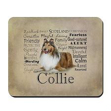 Collie Traits Mousepad