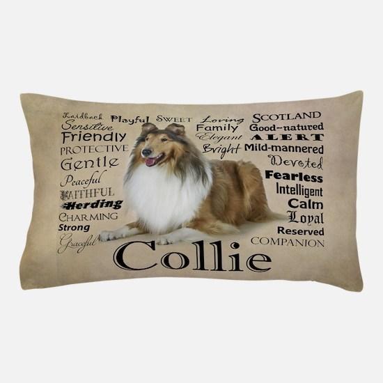 Collie Traits Pillow Case