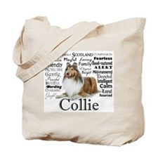 Collie Traits Tote Bag