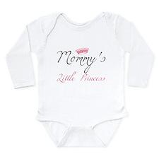 Pink Long Sleeve Infant Bodysuit