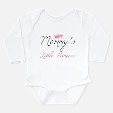 Cute Little princess Long Sleeve Infant Bodysuit