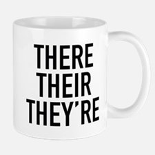 There Their They're Mug